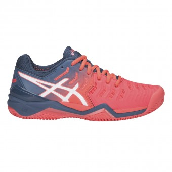 98799c2e94b Asics Gel Resolution 7 Femme Terre Battue PE19 ...