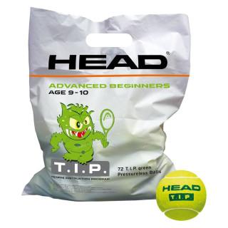 SACHET DE 72 BALLES HEAD VERT