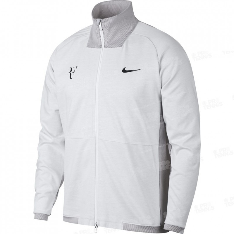 veste nike homme roger federer gris clair printemps 2018 veste de tennis homme. Black Bedroom Furniture Sets. Home Design Ideas