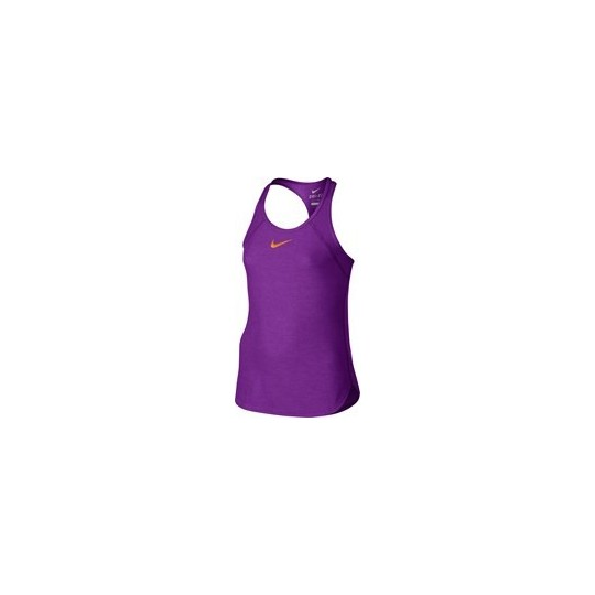 NIKE COURT SLAM TANK FILLETTE VIOLET ETE 2017