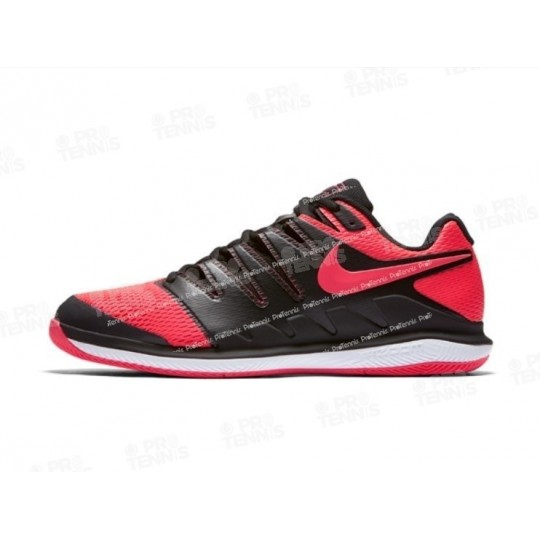 CHAUSSURES NIKECOURT VAPOR X MEN CLAY NOIR / ROUGE PRINTEMPS