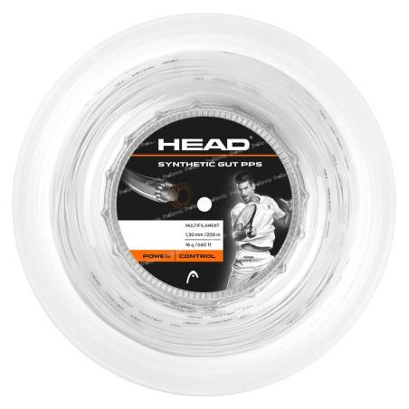 HEAD SYNTHETIC GUT PPS 130 BLANC BOBINE 200m