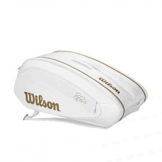 Wilson Sac 12 Raquettes Federer DNA Gold