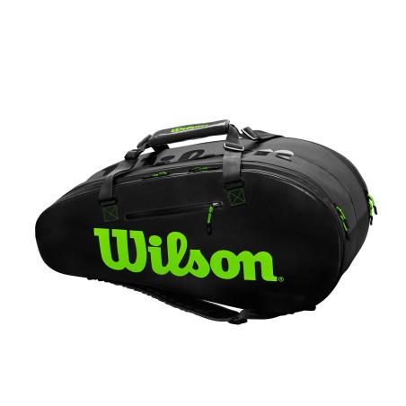 Wilson Super Tour 2 Comp Large Noir Vert