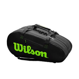 Wilson Super Tour 3 Comp Noir Vert