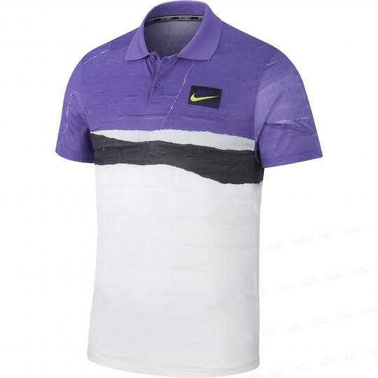 Nike Court Advantage Polo US Open Homme Automne 2019
