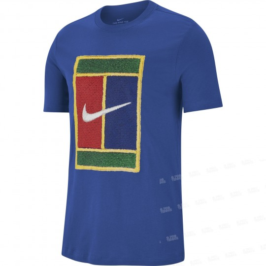 Nike Court Heritage T-shirt Homme Hiver 2019