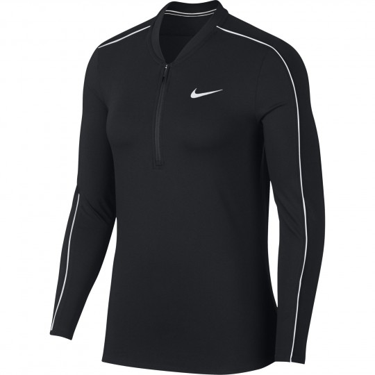 Nike Pure top 1/2 Zip Femme Hiver 2019