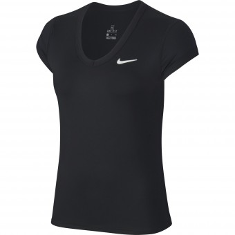 Nike Court Dry T-Shirt Femme Hiver 2019