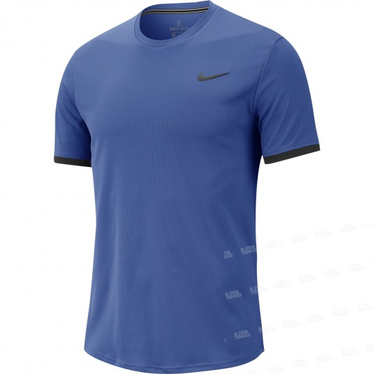 Nike Court Dry Top Colourblock Homme Hiver 2019