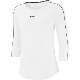 Nike Court Pure Top 3/4 Femme Hiver 2019