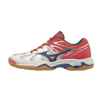 CHAUSSURES INDOOR MIZUNO WAVE PHANTOM LADY BLANC / ROSE PE18