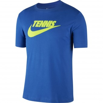 Nike Court Dry T-shirt Tennis Homme Hiver 2019