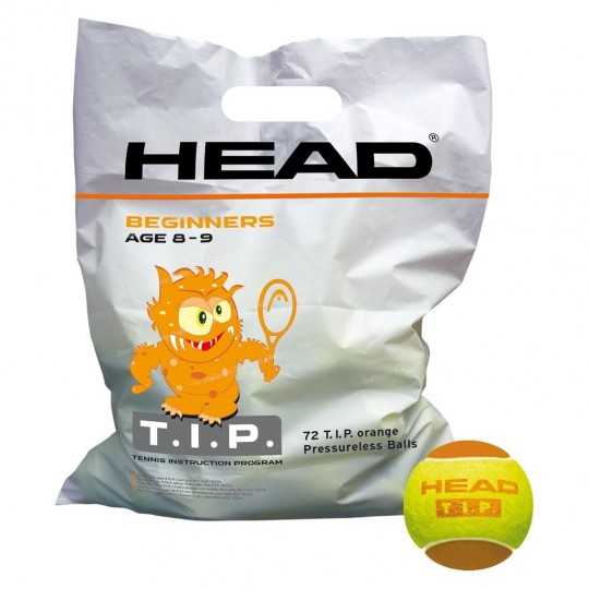 SACHET DE 72 BALLES HEAD ORANGE