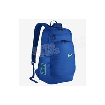 NIKE COURT LOGO TECH 2.0 BKPK BLEU / LIME