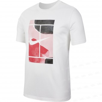 Nike Court Paint Heritage T-shirt Homme Printemps 2020