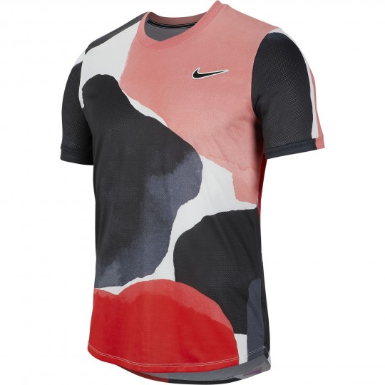 Nike Court Challenger T-shirt Homme Printemps 2020