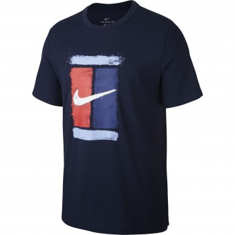 Nike Court Logo T-shirt Homme Ete 2020