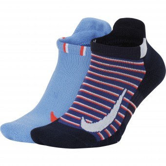 Nike Multiplier Max Ankle 2 pack Chaussettes