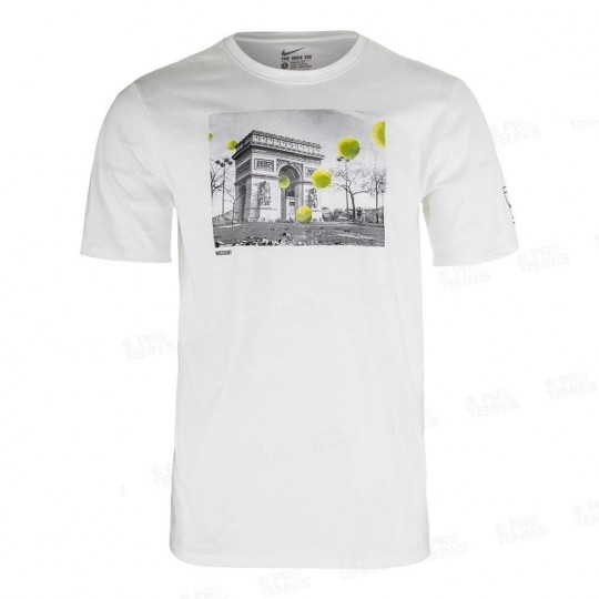 T-SHIRT NIKE MEN COURT ARC DE TRIOMPHE 2017
