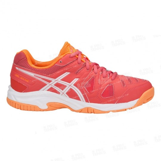 CHAUSSURES ASICS GEL GAME 5 JUNIOR CORAIL / ORANGE / PE18