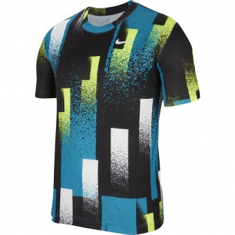 Nike Court Dry Printed T-shirt Homme Automne 2020