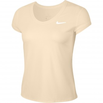 Nike Court Dry T-Shirt Femme Hiver 2020