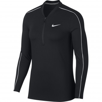 Nike Pure top 1/2 Zip Femme Hiver 2020