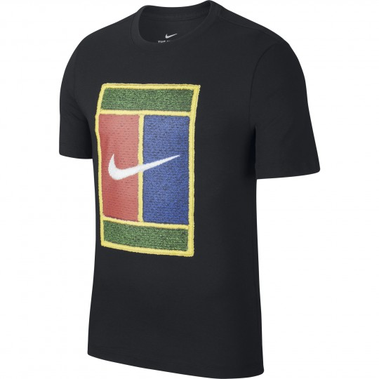 Nike Court Heritage T-shirt Homme Hiver 2020