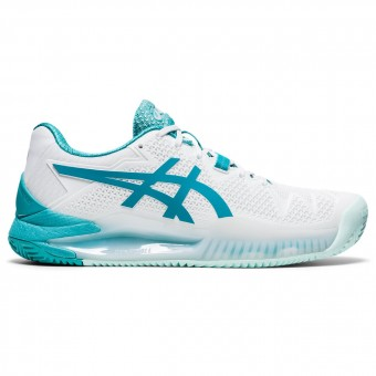 Asics Gel Resolution 8 Terre Battue Femme AH20