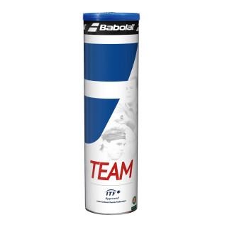 Babolat Team Tubes de 4 Balles