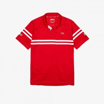 Lacoste Polo Novak Djokovic Rouge PE21