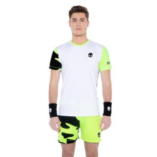 Hydrogen Tech Camo T-shirt Blanc Jaune AH21