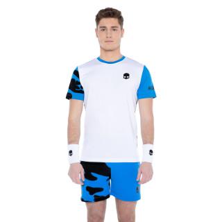 Hydrogen Tech Camo T-shirt Blanc Bleu AH21