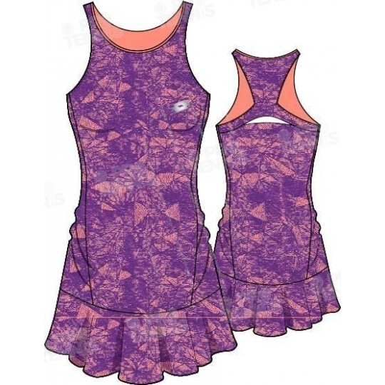 LOTTO TWICE II DRESS+BRA PARME / ORANGE PE17