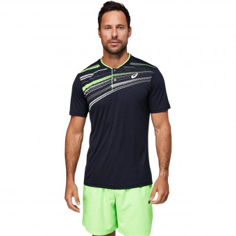 Asics Court Graphic Polo Shirt Homme AH21