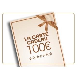 Chèque cadeau de 100€