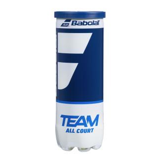 Babolat Team All Courts Carton de 30 Tubes de 3 Balles