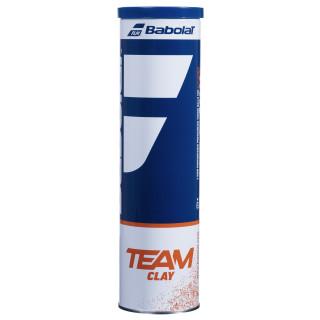 Babolat Team Clay Carton de 18 Tubes de 4 Balles