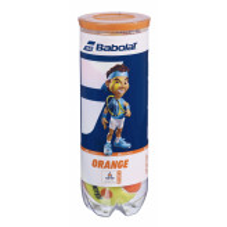 Babolat Orange Tube de 3 Balles