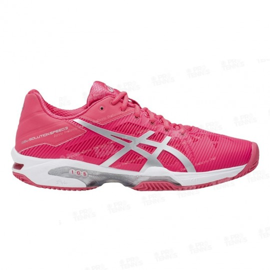 ASICS GEL SOLUTION SPEED 3 LADY CLAY ROSE / SILVER AH17