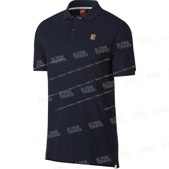 POLO NIKE MEN COURT HERITAGE OBSIDIEN PRINTEMPS 2018
