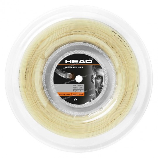 HEAD REFLEX MLT 125 NATUREL BOBINE 200m