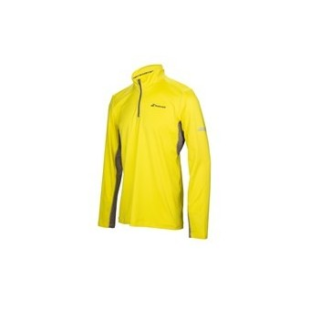 SWEAT 1/2 ZIP BABOLAT CORE JUNIOR JAUNE AH17