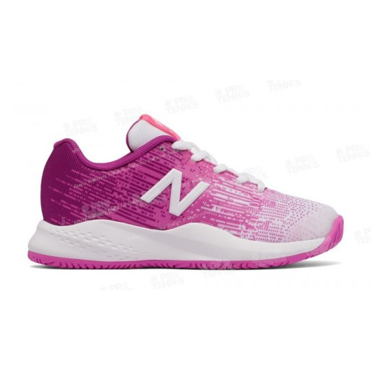 NEW BALANCE 996V3 JUNIOR ROSE / BLANC