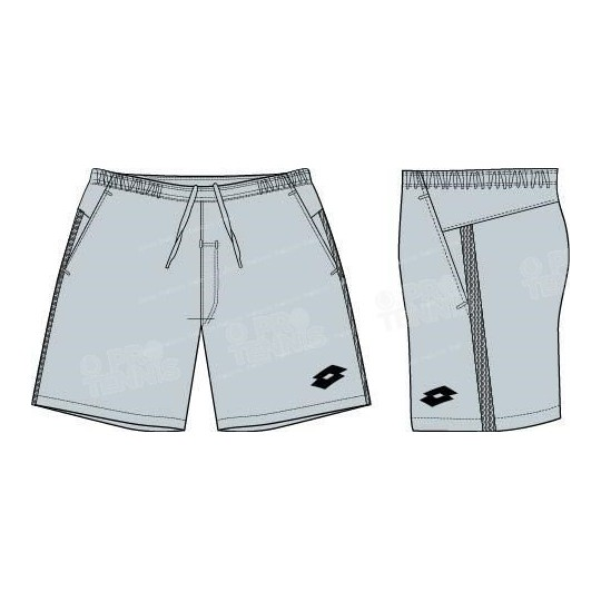 LOTTO MEN SPACE SHORT GRIS CLAIR
