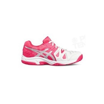 ASICS GEL GAME JUNIOR 5 ROSE / BLANC PE17