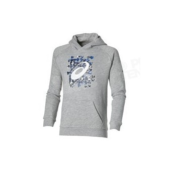 ASICS JUNIOR GRAPHIC SWEAT GRIS