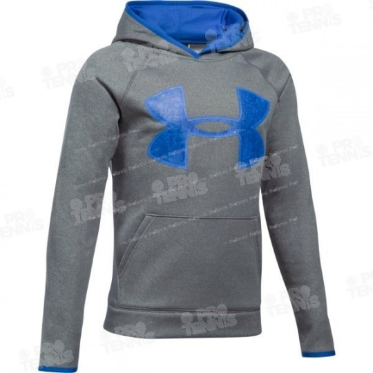 SWEAT UNDER ARMOUR JUNIOR GRIS / BLEU AH17