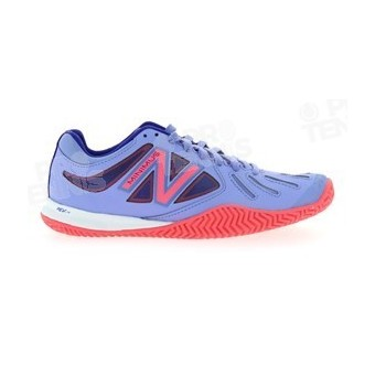 NEW BALANCE MINIMUS 60 LADY TERRE BATTUE PARME/ROSE